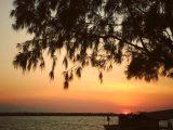 sunset-di-pantai-marina-semarang